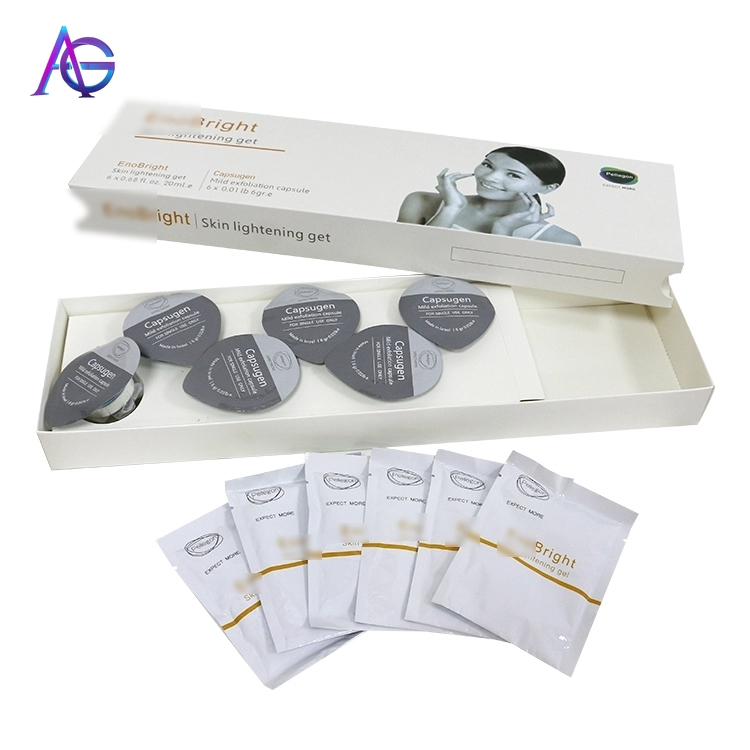 Exfoliation Face Acne Treatment Kit Oxygen Peeling Machine Improve Skin Firmness Consumables For Beauty Salons