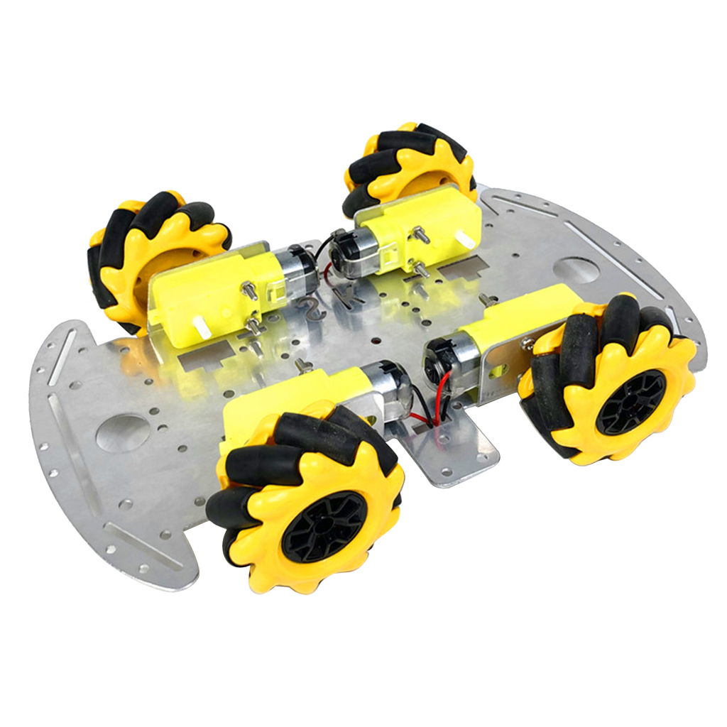 4WD quatre roues motrices métal Robot intelligent voiture châssis TT moteur bricolage 3 - 9V