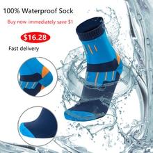 100% Waterdicht Ademend Bamboe Rayon Sokken Voor Wandelen Jacht Skiën Vissen Naadloze Outdoor Sport Unisex Dropshipping