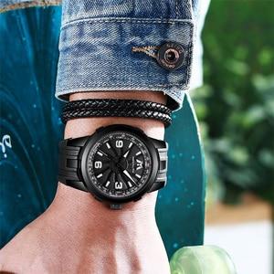 Image 5 - MEGALITH Men Military Watches Creative Turbine Rotation Dial Watch Sport Waterproof Quartz Watches Mens Clock Relogio Masculino