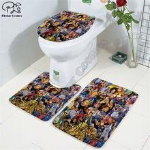 Рэпер певец 2pac tupac 3d Печатный коврик для ванной комнаты