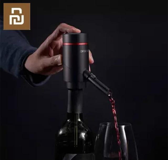 New  Circle Joy Smart Electric wine hangover wine dispenser Quick hangover set USB lithium battery charging