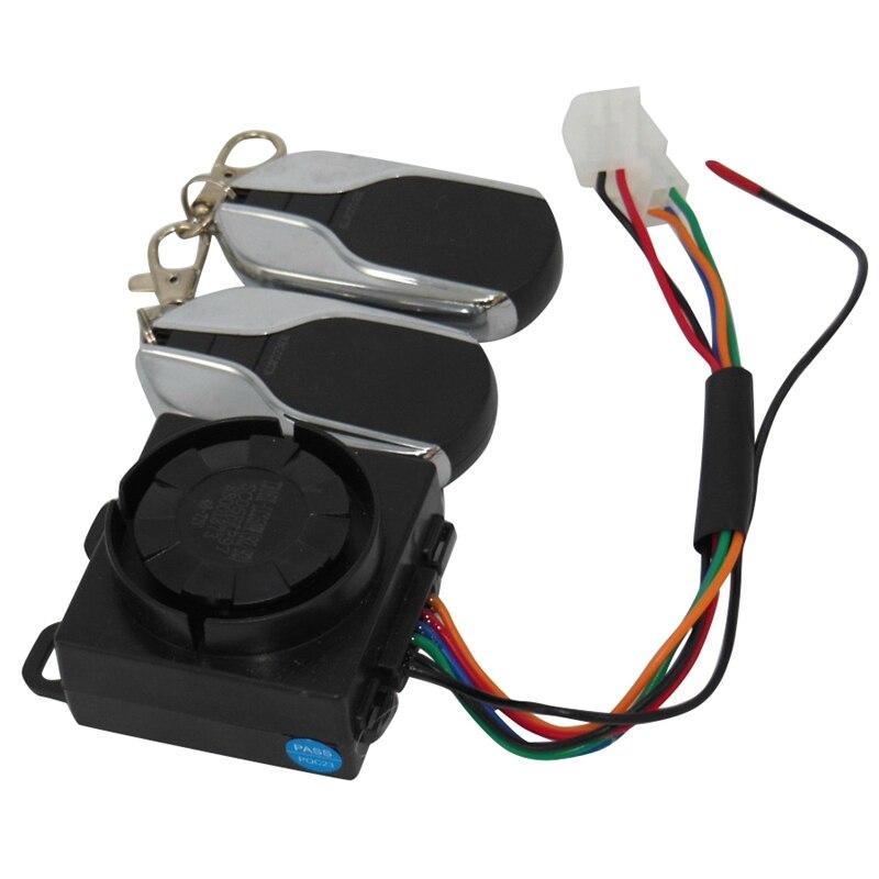 Electric Bicycle Alarm Double Remote Lock Motor 48V60V64V72V