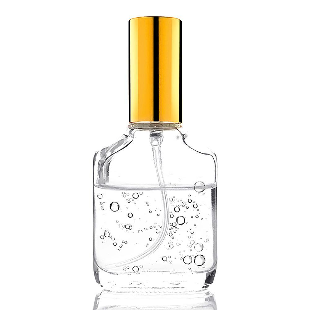 10ml Mini Portable Perfume Bottle Clear Travel Refillable Empty Bottle Glass Perfume Storage Bottles Travel Storage Organizer