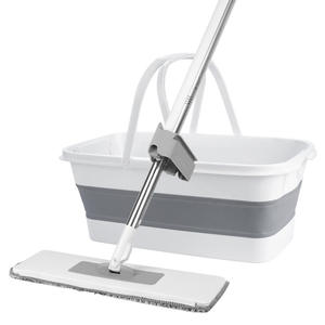 SFlat Mop With Bucket...