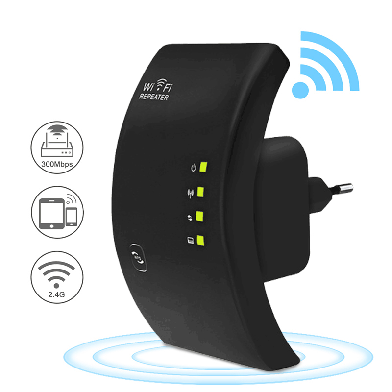 Wifi Repeater WiFi Extender 300Mbps Wifi Booster Wireless Wi-Fi Signal Amplifier Long Range Wi Fi Repeater 802.11N Access Point