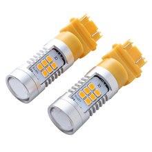 2PS 3157 LED Steering Daytime Light DC12-24V 6W Brake Running Super Bright High Quality Car Bulb