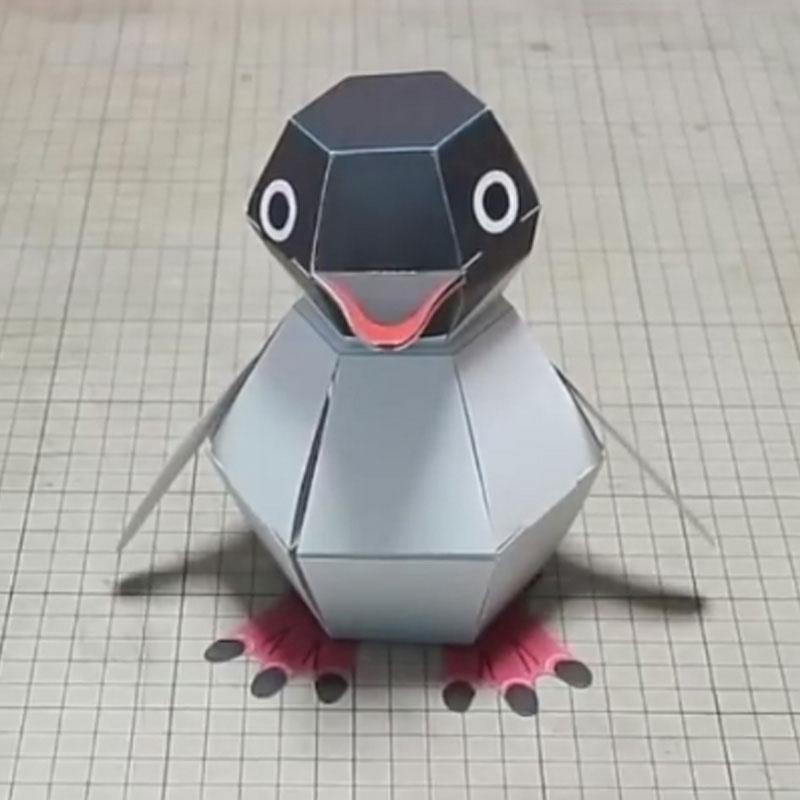 DIY Paper Scrapbook Decoration Paper Haruki Nakamura Paper Toys Animal Origami Kirigami Folding Discover Adorable Toys D5