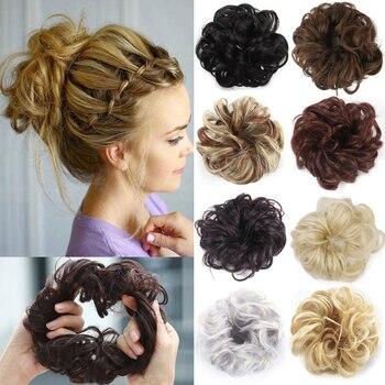 1pcs Multiple Colour Women Girls Hairbands Elastics Scrunchie Hair Accessories  Bows Clips for Headband - discount item  5% OFF Headwear