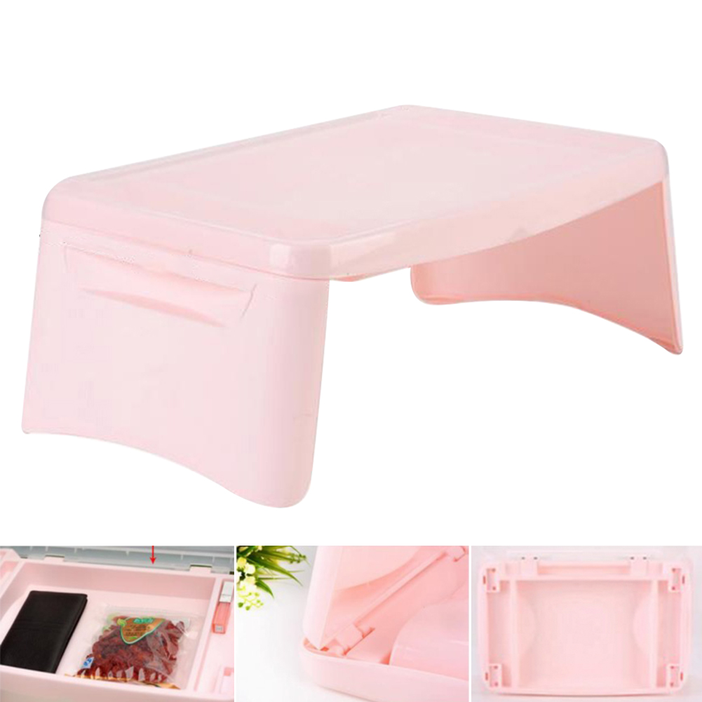 Multifunction Laptop Desk With Storage Space For Kids Notebook Portable Eating Study Students Table Foldable Home Lightweight