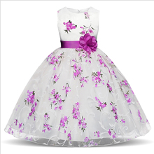 Summer Tutu Dress For Girls Dresses Kids Clothes Wedding Events Flower Girl Dress Birthday Party Costumes Children Clothing 4-8T high quality new brand girls cute dresses for wedding trendy birthday summer party flower girl dress clothing free shipping
