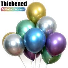 10 pçs 12 / 10 / 18 polegada engrossado látex balão de aniversário rave festival decoração da festa casamento cena layout quarto balão