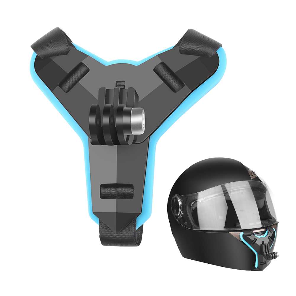 Motorcycle Helmet Front Chin Bracket Holder Tripod Mount For GoPro Hero 8 7 5 Black Xiaomi Yi 4K Sjcam Eken Go Pro Hero 7