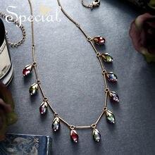 Особая Европейская и американская мода ожерелье Женская цепочка