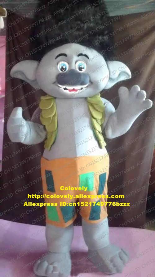 Troll Poppy Cabang Parade Kualitas Badut Maskot Kostum Dewasa Kartun Karakter Hotel Pub Salon Kecantikan CX029 Gratis Shiping