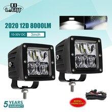 CO ضوء 2020 جديد 12D سيارة عمود إضاءة LED 3