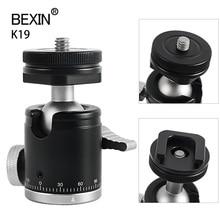 Camera Mini Balhoofd Monopod Bal Hoofd Statief 360 Panoramisch Hoofd Met Hot Shoe Base Mount Adapter Voor Dslr camera Flash
