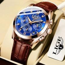 2020 montres hommes LIGE marque hommes Sport montres hommes Quartz horloge homme décontracté militaire étanche montre-bracelet relogio masculino