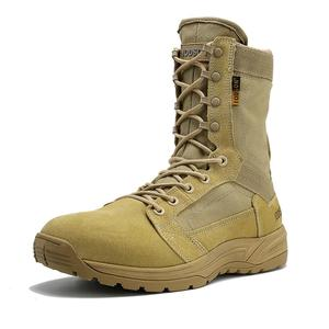 Image 5 - IODSON 야외 군사 전술 부츠 남자의 통기성 사막 전투 발목 부츠 가을 군사 신발 세 가지 색상