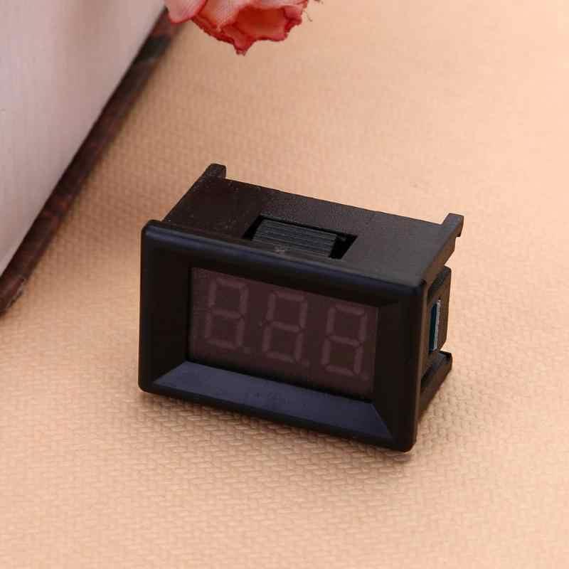 """1 قطعة DC4.5V-30.0V متر الجهد الرقمي لوحة فولت الحالي كاشف جهد جهاز اختبار بطارية 0.36/0.56 """"الفولتميتر مقياس التيار الكهربائي شاحن"""
