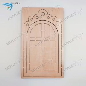 Image 5 - Moules en bois amovibles en bois, pour fenêtres et portes, accessoires de découpe
