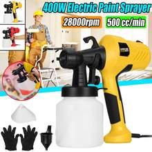 EU Plug 400W Electric Spray Guns Home Decor Paint Sprayer 800ML 220V Spraying Machine Painting Pesticide Disinfectant Spray Tool