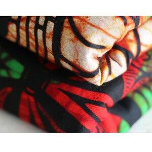 Image 3 - Africa Ankara Stampa Patchwork Tessuto Reale Della Cera Tissu African Materiale Da Cucire per il Vestito FAI DA TE Accessorio Pagne 100% Cotone