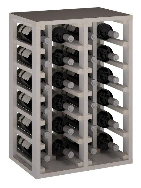 Botellero Clásico 24 Botellas Blanco