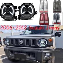 2006~2012y car bupmer head light for Suzuki Jimny headlight car accessories LED DRL HID xenon fog for Jimny headlamp