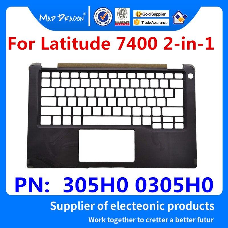 Ordinateur portable nouveau original Palmrest housse supérieure noir C coque pour Dell Latitude 7400 2-en-1 EDB41 305H0 0305H0 AM2CD000212