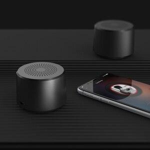 Image 2 - 2019 Tròn Mini Di Động Không Dây Bluetooth Loa Siêu Trầm Âm Thông Minh Điều Khiển Loa Di Động Bluetooth 5.0