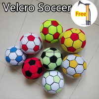 MZQM(10pcs/lot) 20cm inflatable air sticky soccer ball for dart board/inflatable air soccer ball