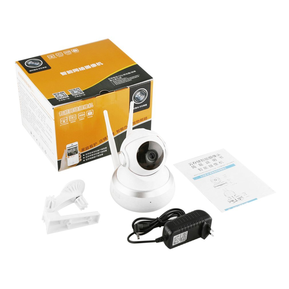 Human Body Sensor 720P Wireless Intelligent Monitor Home Security HD IP Camera With LED Wireless Smart WiFi Audio CCTV