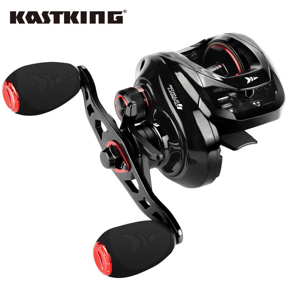 KastKing Royale Legend II & GT baitcast بكرة 7.2:1 5.4:1 نسبة التروس بكرة المياه العذبة الألومنيوم بكرة 8 كجم سحب الصيد