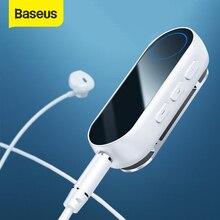 Baseus Bluetooth משדר אלחוטי Bluetooth מקלט עבור אוזניות אוזניות Speakr 3.5 Aux Bluetooth אודיו מתאם מקלט