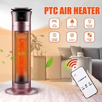 Remote control  heater  vertical heater  household bathroom heater  electric fan|Electric Heaters| |  -
