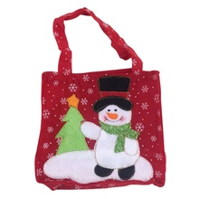 Portable Cute Candy Treats Bags Christmas Tote Candy Bag Sto
