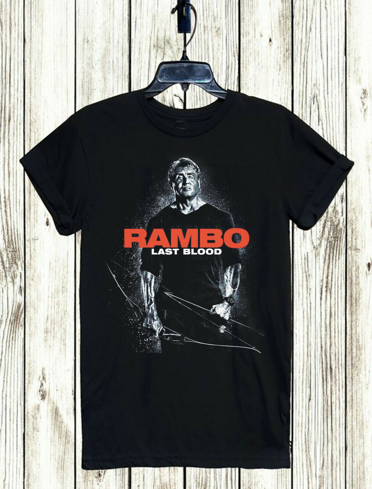 RAMBO LAST BLOOD MOVIE T-SHIRT XS-5XL UNISEX FREE SHIPPING STALLONE FIGHT CULT