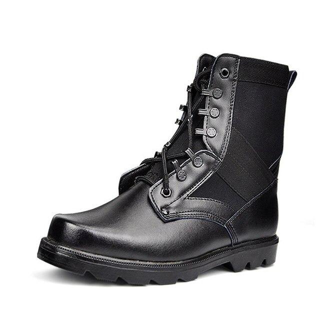 Schuhe In Arbeit Stiefel Kappe Us34 Militär Taktische Der Wüste Armee Kampf Leder Sicherheit 15Off 84 Schwarz Arbeits männer Stahl Männer odCxeB