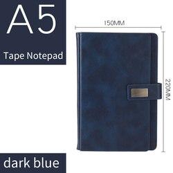 Klasyczny Notebook A5 skórzany pokrowiec