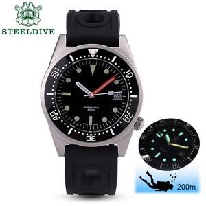 Image 2 - STEELDIVE  Shark Dive Watch 200m Mechanical Watch Men Wrist Automatic C3 Super Luminous 1979 Replica Automatic Watches Men