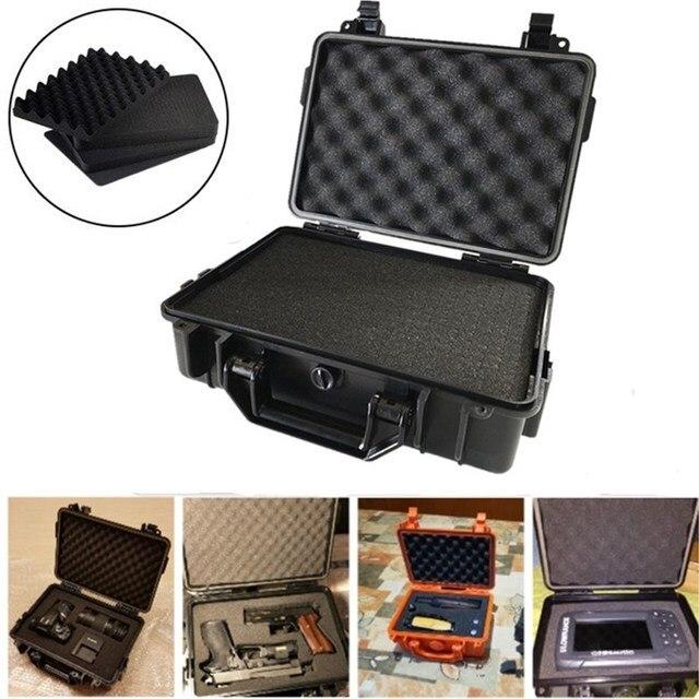 مقاوم للماء حالة السلامة ABS البلاستيك أداة صندوق في الهواء الطلق التكتيكية صندوق تجفيف مختومة معدات السلامة تخزين حاوية أداة خارجية