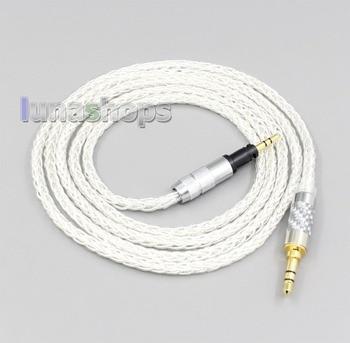 LN006534 8 Core Silver Plated OCC Earphone Cable For Sennheiser Momentum 1.0 2.0 On-Ear Headphones bgvp m1 apt x bluetooth v4 2 cable for mmcx earphones hifi 8 core occ silver plated cable with microphone for shure for ue
