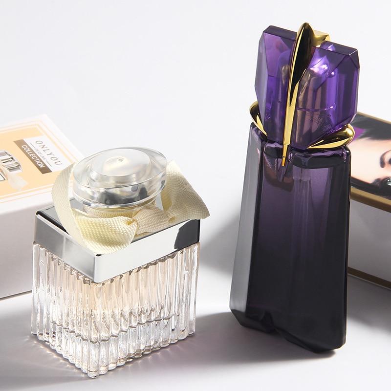 JEAN MISS Brand Fashion Natural Women Deodorant Fragrance Flower Atomizer Woman Spray Glass Long Lasting Deodorant