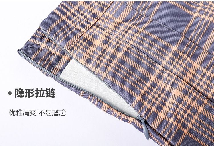 Harajuku Short Skirt New Korean Plaid Skirts Women Zipper High Waist School Girl Pleated Plaid Skirt Sexy Mini Skirt Plus Size 19