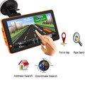 Автомобильный навигатор GPS 9 дюймов HD LCD емкостный экран 256MB Navitel спутниковая навигация грузовик GPS навигатор автомобиль 2019 последняя Европа