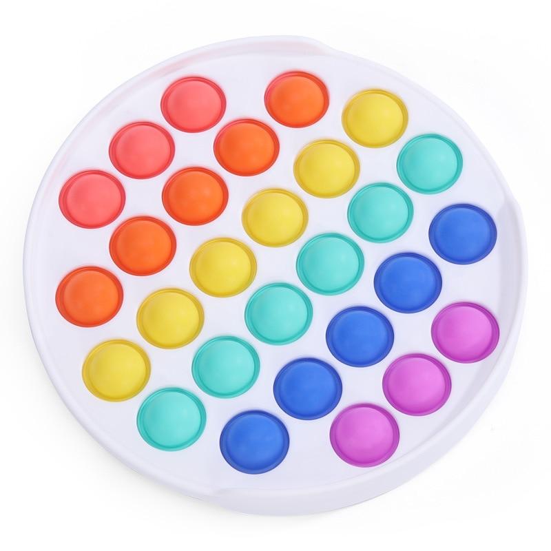 Новые красочные пузырьки для стимуляции аутизма нуждаются антистрессовые фиджеты-игрушки восстанавливают эмоции снятие стресса тревожно...