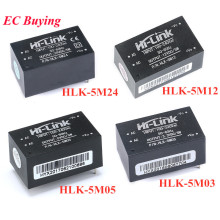 HLK-5M03 HLK-5M05 HLK-5M12 HLK-5M24 AC-DC 220V to 5V 3.3V 12V 24V 5W 5V700mA Power Supply