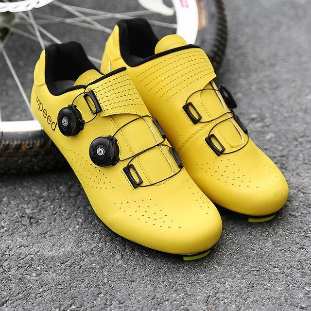 Descoloração sapatos de ciclismo mtb tênis homem mountain bike sapatos spd chuteiras estrada sapatos esportes ao ar livre treinamento ciclo tênis 6