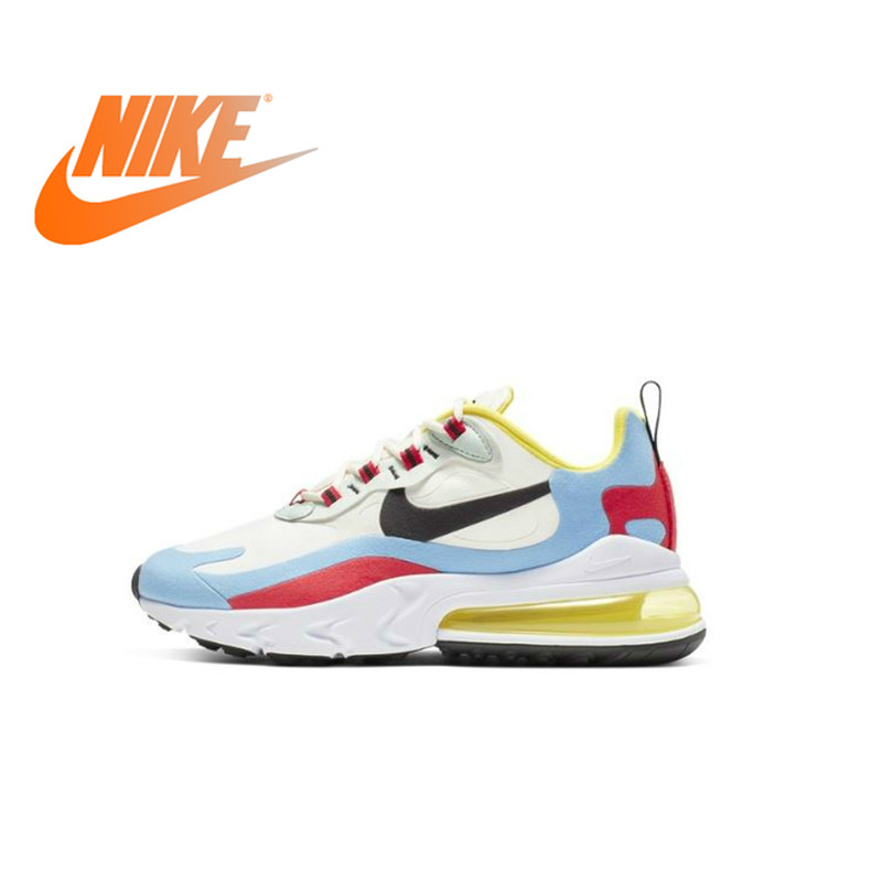 Nike Air Max 270 React Women's  Running Shoes Breathable Air Cushion Outdoor Sneakers New Design Arrival AT6174-002